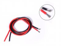 Silicone Wire High Temprature Super Flexible Grade 12 AWG (1m Black + 1m Red)