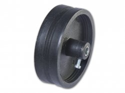 Pulley for track belt 2 cm