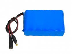 Lithium-Ion Rechargeable Battery Pack 18.5V 5000mAh (2C) with Charge Protection Circuit
