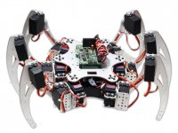 18DOF 6Legged Intelligent Hexapod Robot DIY without electronics