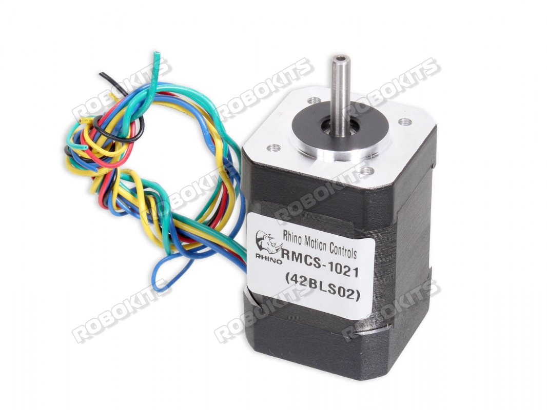 Brushless dc motor with Hall Low Noise NEMA17 24V 4000RPM