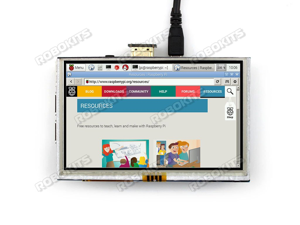 Raspberry Pi Hdmi 5 Inch Lcd Monitor With Touchscreen 800480 Rki How To Diy Rf Switch All About Circuits Forum