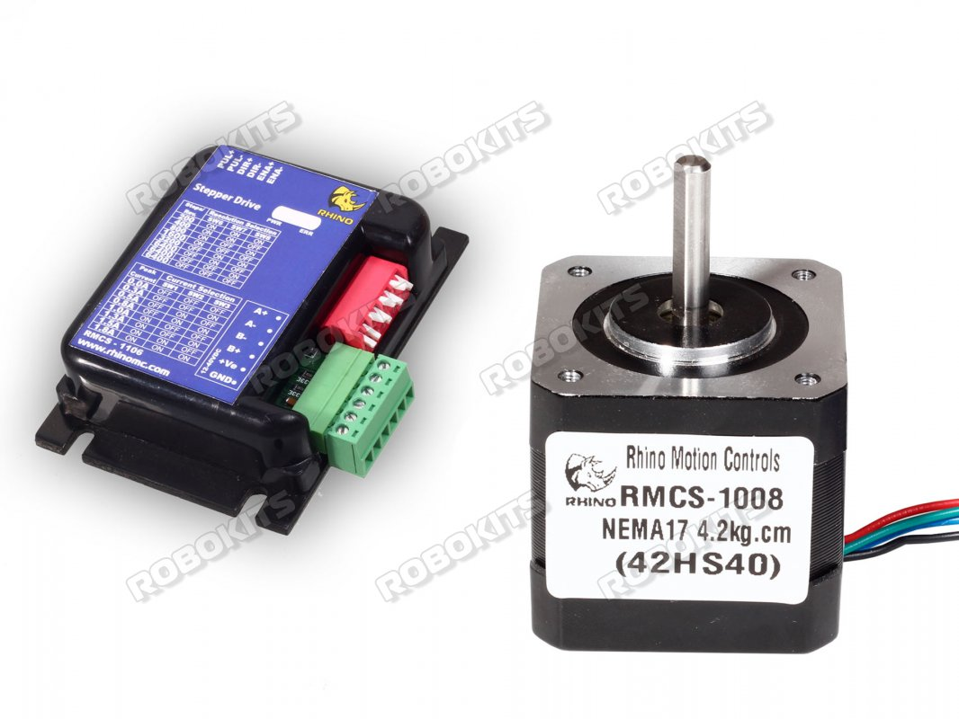 Stepper Motor Nema17 42kgcm With 2a Microstepping Drive Rmcs 1158 Servo Is A Controlled By Pulses It Positions S Shaft