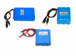 11.1VLi-ion Batteries 9.6-12.6V