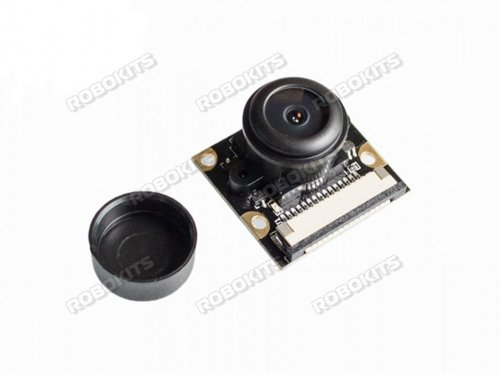 5MP Infrared Night Vision Fish-eye lens 170deg FOV Surveillance Camera Module Raspberry PI Compatible