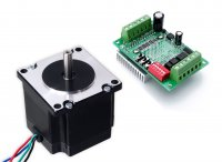 NEMA23 Stepper Motor 10Kgcm Torque with TB6560 Stepper Drive