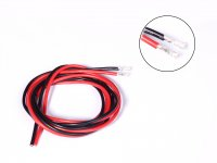 High Temprature Super Flexible Grade Silicone Wire 18AWG (1m Black+1m Red)