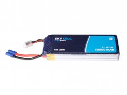 Skycell 11.1V 3S 10000mah 25C (Lipo) Lithium Polymer Rechargeable Battery