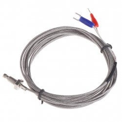 WRX-31 K-type Thermocouple M6 Temperature Measurement Probe 0-600 Degree C - 2 meter