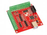 USB CNC Controller Mach3 4 Axis 100KHz Interface Board MK1