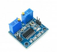 TL494 PWM Speed Controller Frequency Duty Ratio Adjustable