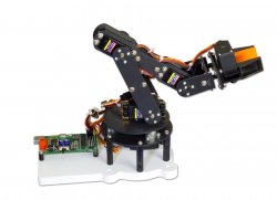 Robotic Arm 5 DOF DIY Kit with USB Servo Controller and Software