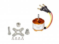 RC Brushless Motor 2212 1400KV with Soldered Banana Connector
