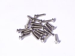M3 x 12 mm SS Bolt Precision Stainless Steel 304 MOQ 25 Pcs