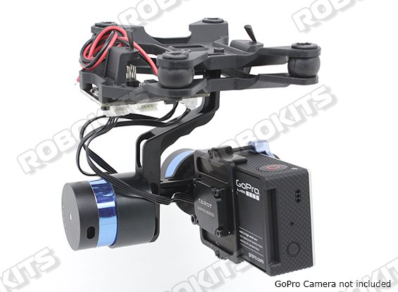 Tarot T-2D Gimbal for GoPro camera with controller - Click Image to Close