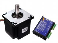 NEMA42 Stepper Motor 110Kgcm Torque with RMCS-1101 Drive