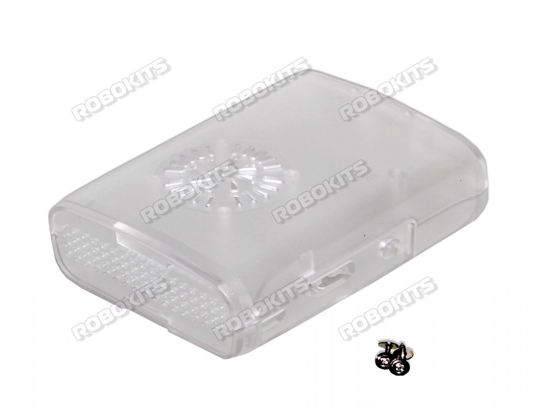 Transparent Clear Case Enclosure with cooling Fan slot