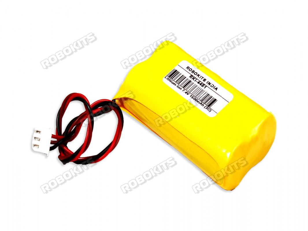 Lithium-Ion Rechargeable Battery Pack 7.4V 1500mAh (2C) - Click Image to Close