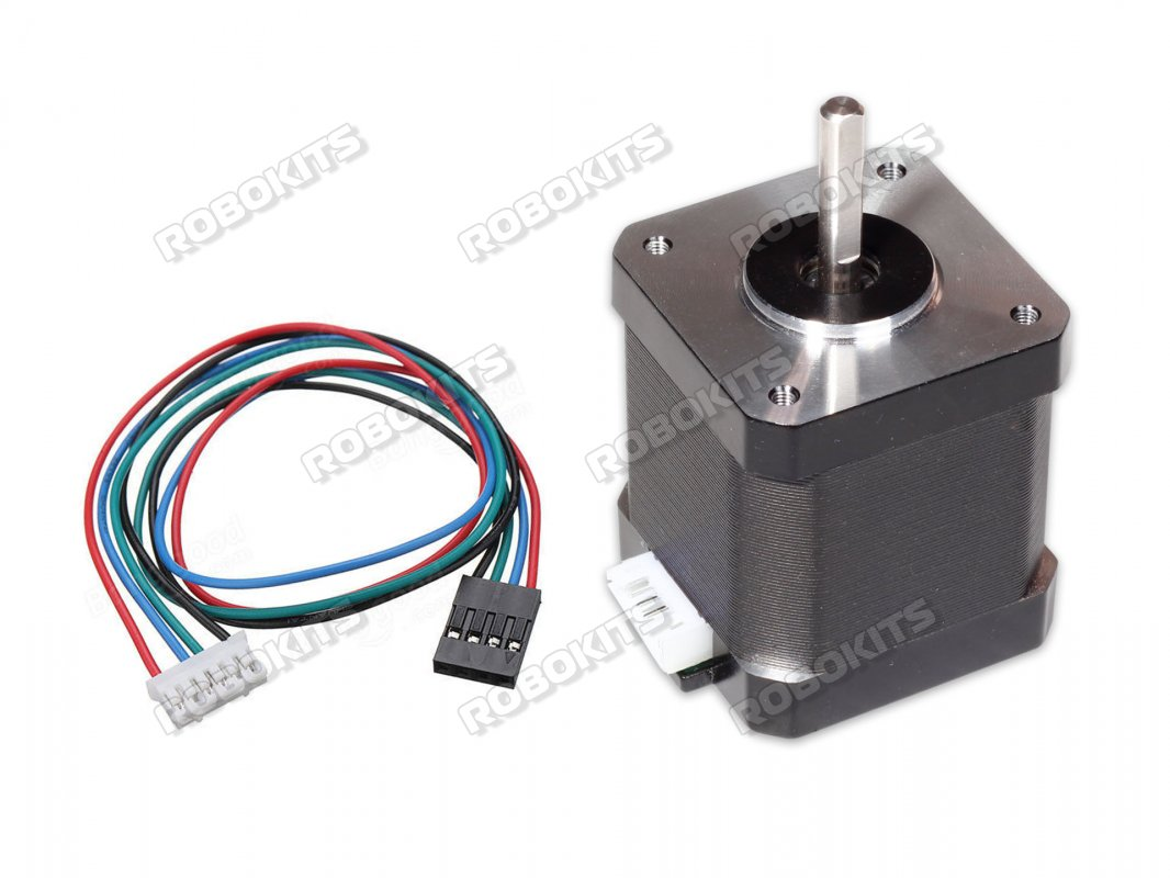 Nema 17 Stepper Motor Wiring