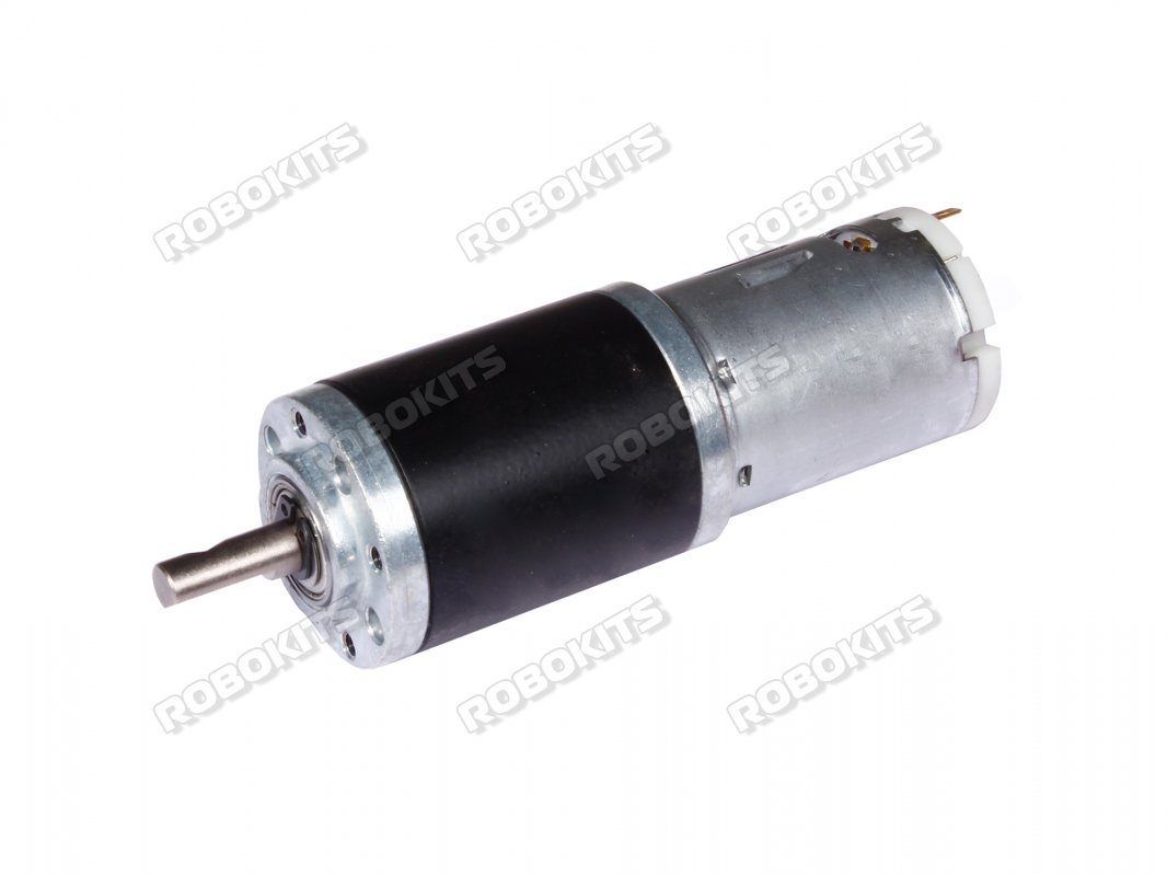 Rhino 12V DC 300RPM 10Kgcm IG32 Heavy Duty Planetary Geared Motor - Click Image to Close