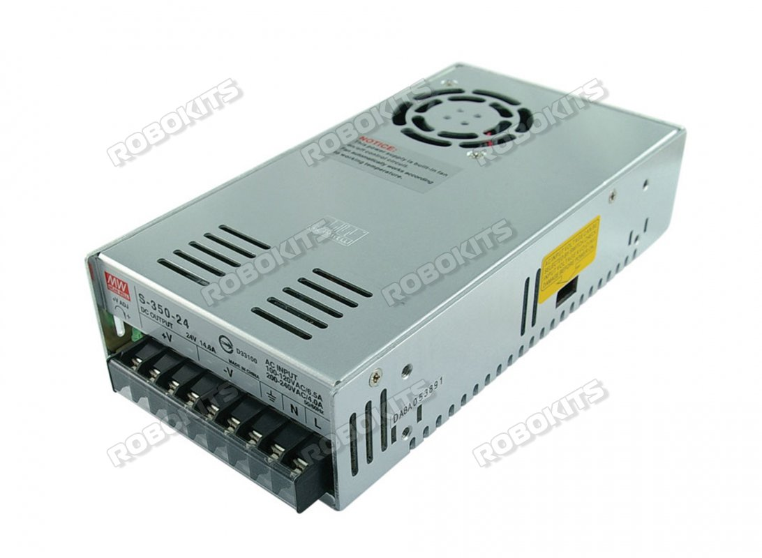 Industrial Power Supply S-24V 14.5A 350W - Premium - Click Image to Close