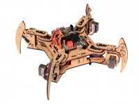 Quadruped Robot DIY Kit with 18 servo controller board