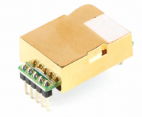 MH-Z19C Infrared Carbon Dioxide (CO2) Sensor with UART/Analog/PWM output PCB Mount