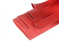 Heat Shrink Sleeve 40 mm Red 1 meter Premium Quality Industrial Grade WOER (HST)