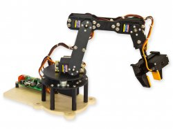 Robotic Arm 6 DOF DIY Kit with USB Servo Controller and Software