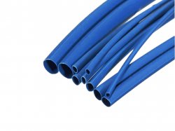 Heat Shrink Sleeve 3 mm Blue Premium Quality Industrial Grade WOER (HST) MOQ 3 meter