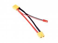 XT60/2-Pin Male JST Plug Extension Cable