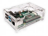 Transparent Acrylic Case For Raspberry Pi 4 Model B