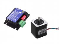 Nema17 Stepper Motor 4.4Kgcm with Rhino 2A Microstepping Drive
