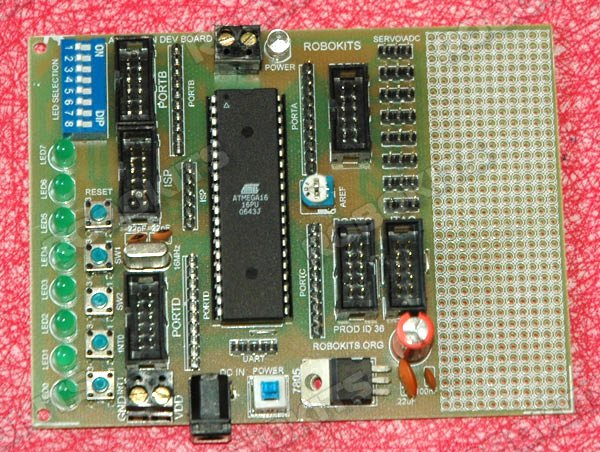 AVR 40 pin Development board
