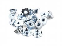 M4*15*7.5 Galvanized Four Claws Furniture Nut T-nut Pack of 10pcs