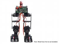 6DOF Biped Robot Chassis Kit