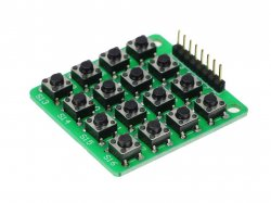 4x4 Matrix Keypad Module 16 Button compatible with Arduino