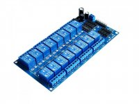 Opto-Isolated 16 Channel 5V Relay Board LM2596 Power Supply