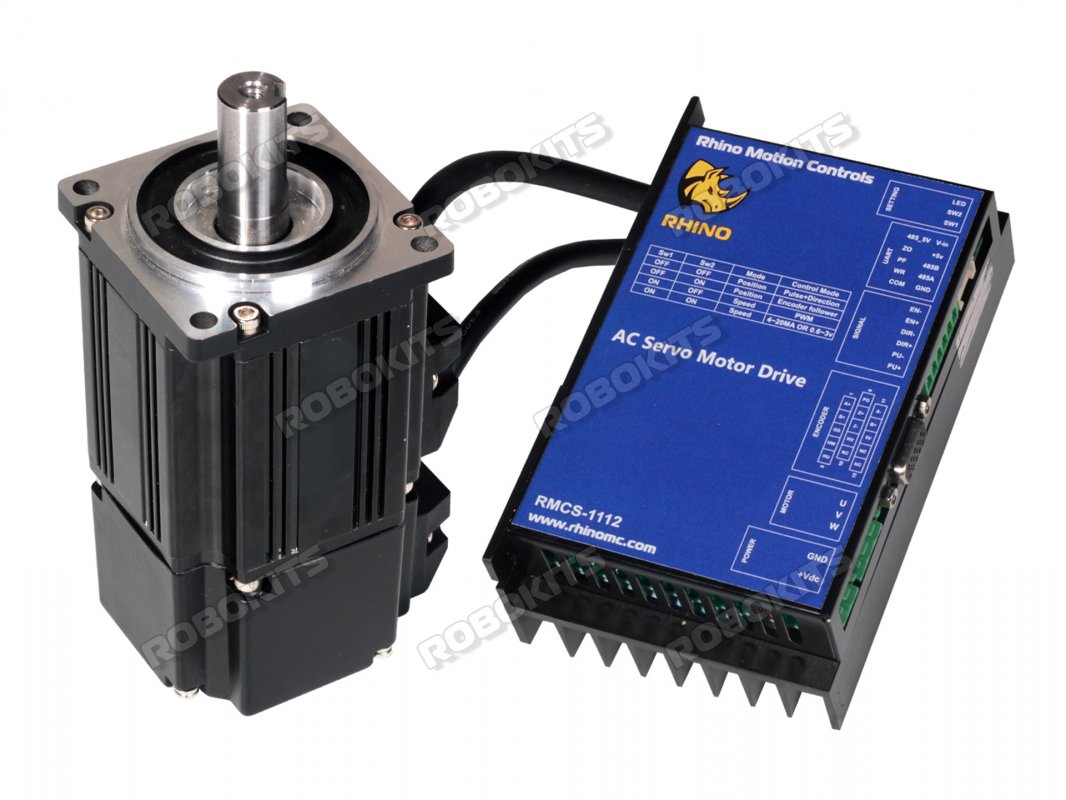 Low Voltage AC Servo Motor 200W with RMCS-1112 driver