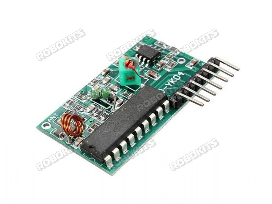 Four Channel Wireless Rf Remote Control Transmitter Receiver Rki Board Module Dual Parts For Diy Kitin Integrated Circuits