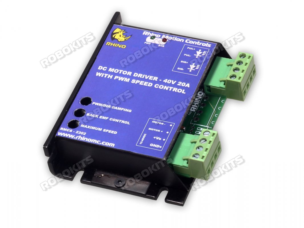 Dc Motor Driver 40v 20a W T Pwm Speed Control Rmcs 2302 1650 Router Circuit
