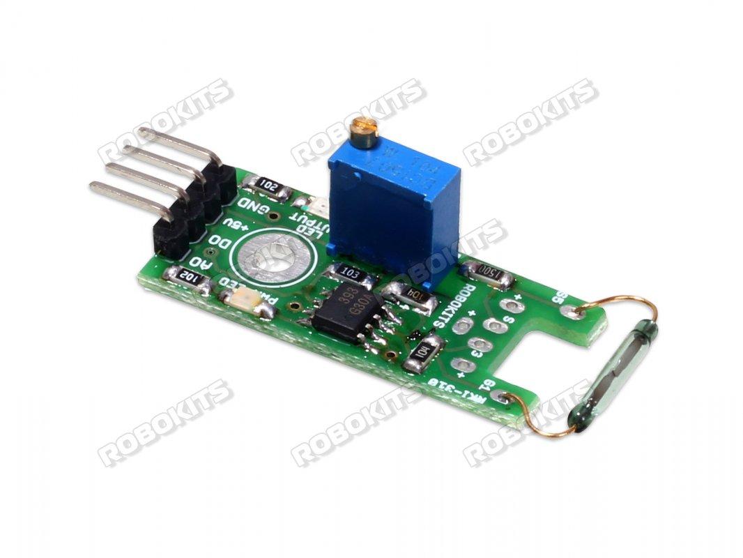 Reed Switch Sensor Module Rki 3105 120 Robokits India Easy Relay