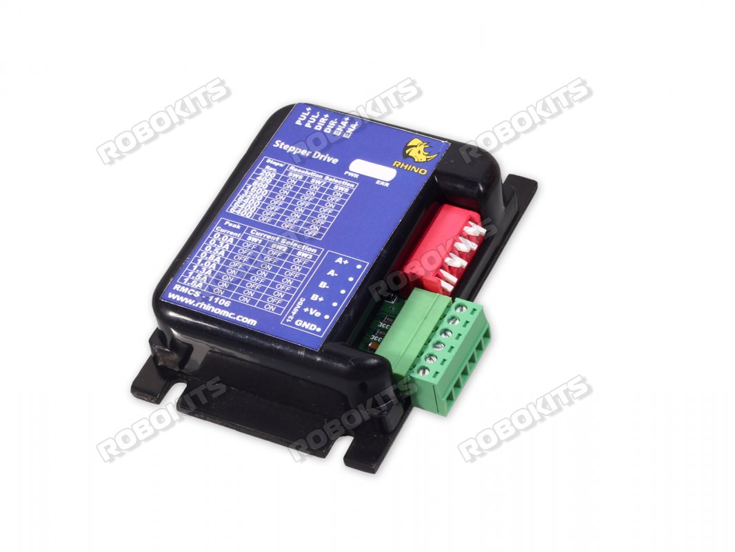 Micro Stepping Stepper Motor Drive 12 40v 2amp Rmcs 1106 1400 Driving Circuit