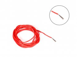 High Temprature Super Flexible Grade Silicone Wire 20AWG (1 meter Red)
