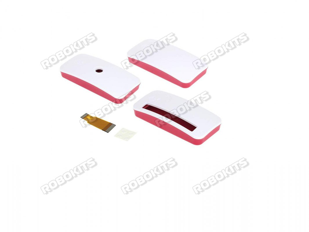 Raspberry Pi ZERO W Red White Dustproof Case