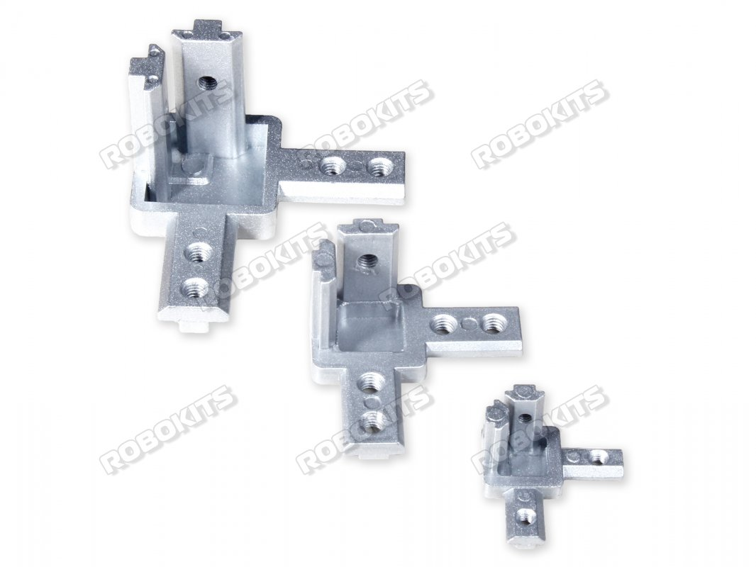Standard 3 Way Inside Corner Brackets connector for 3030 Profile - Click Image to Close