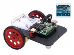 Capacitive Touch Controlled Robot DIY Kit compatible with Arduino