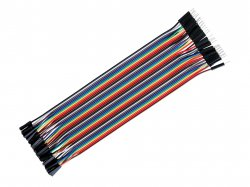 1 pin Male-Female Breadboard jumper wire 40pcs pack