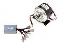 EBike DC Motor 24V 2750RPM 250W with Controller