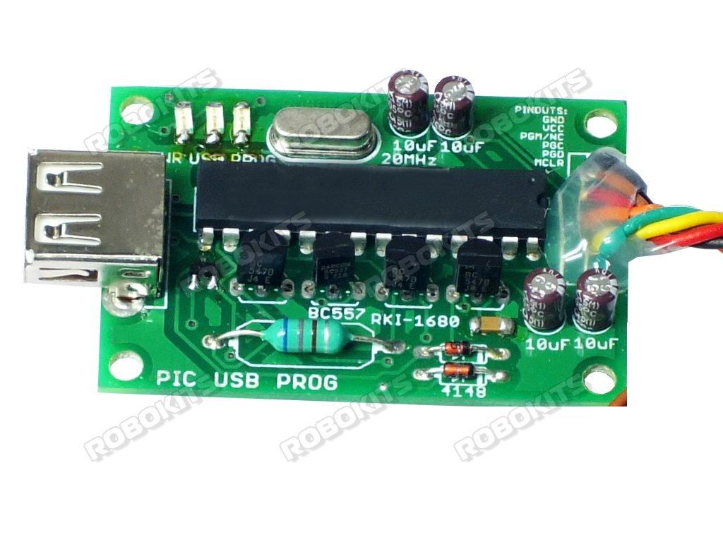 PIC USB ICSP Programmer